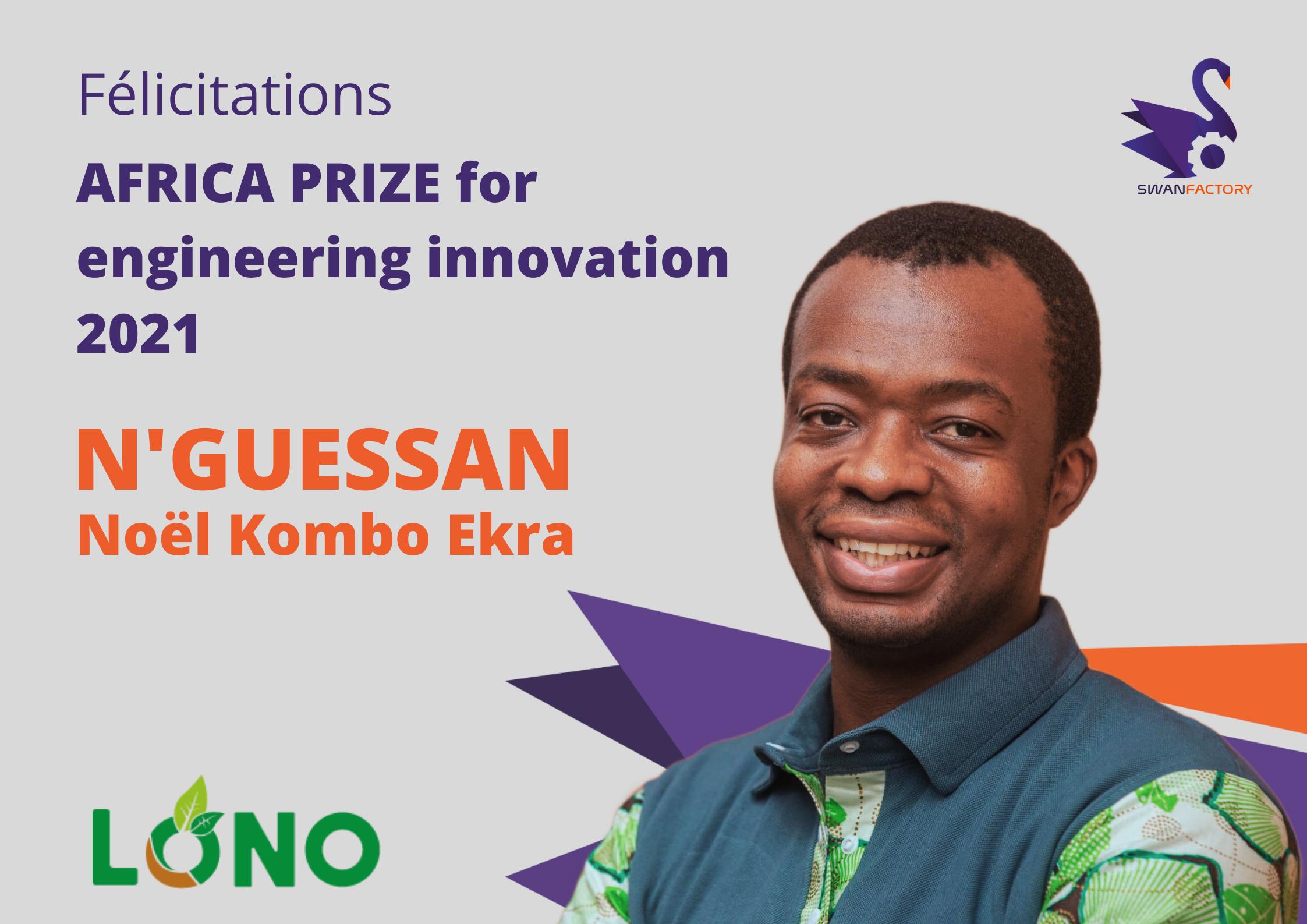 KUBEKO – Prix Afrique 2021 de la Royal Academy of Engineering